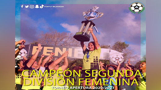 CD El 26 Campeon de Segunda Fem