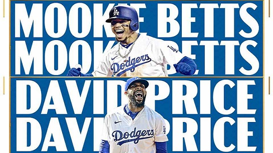 mookie betts david price dodgers